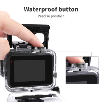 RuigPro 45m Underwater Waterproof Case for GoPro Hero 7 6 5 Black Diving Protective Cover Housing Mount for Go Pro Accessory 1