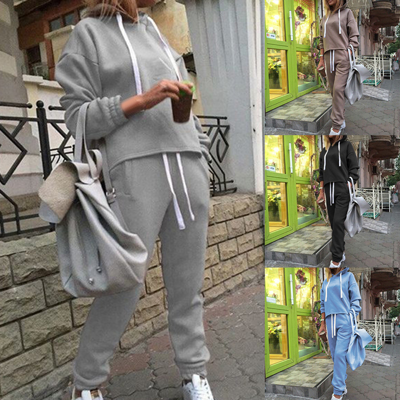 Female Tracksuits Long Sleeve  Set Sports Running  Suit Fitness Clothing Sportswear Conjunto Deportivo Mujer