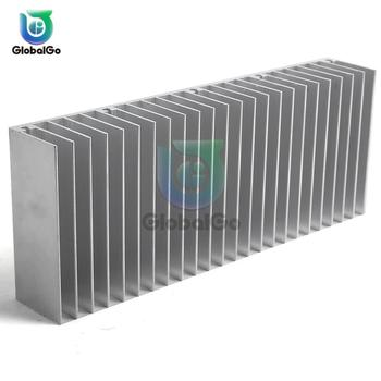 Extruded Aluminum Heatsink For High Power LED IC Chip Cooler Radiator Heat Sink 60x150x25 free ship by dhl ems aramex high power electronic radiator aluminum heat sink w200mm h45mm custom length 200 45 400mm radiator