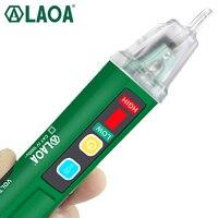 Laoa Voltage Meter Kat Vit 1000V Inductie Sonde Test Voltage Test Machine Multifunctionele Elektrische Tester