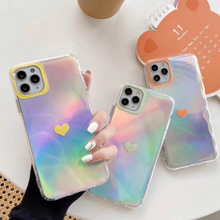 For iPhone 11 Pro Max XR X XS Max 6 6S 7 8 Plus Colorful Luxury  Transparent Soft Silicone Moible Phone Case Back Cover Coque luxury matte leopard print phone case cover for iphone xs max xr x 8 7 6 6s plus 11 pro soft back cases colorful fashion shell