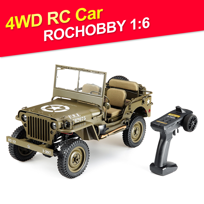 Car SCALER Vehicle-Models Radio-Control Rc-Car 2ch-1941 Waterproof ROCHOBBY Toys Battery