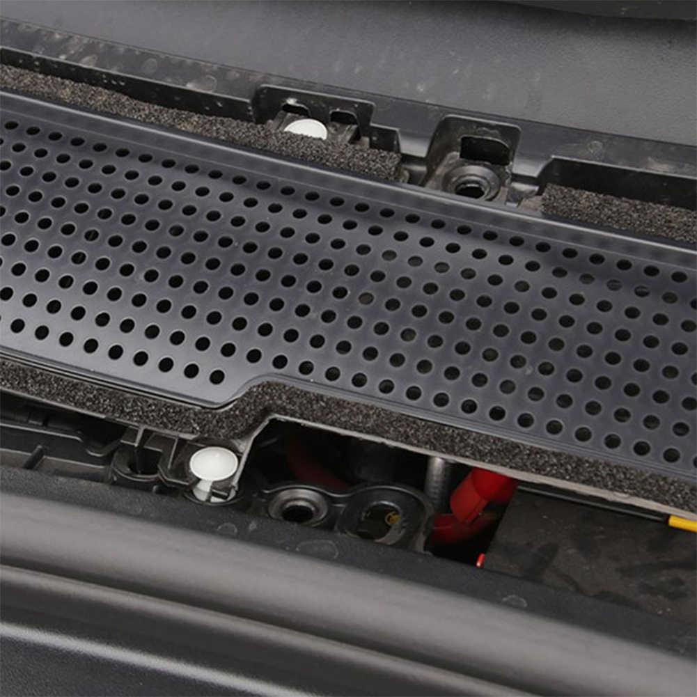 Легкая установка вентиляционное отверстие Анти-пыль черная замена защитная крышка эффективный декоративный автомобиль аксессуары для Tesla модель 3