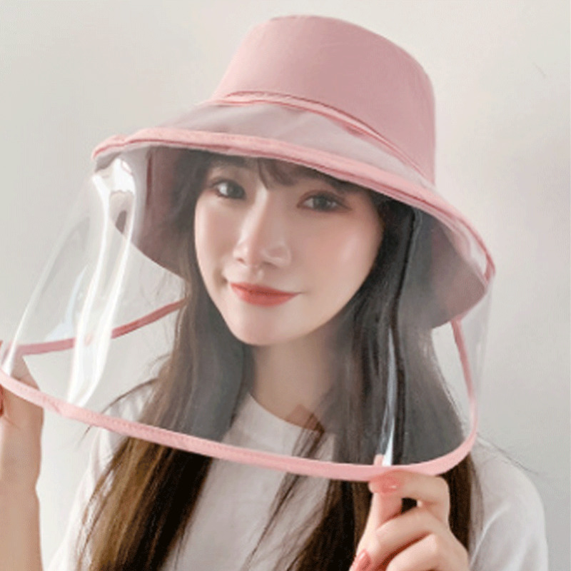 Anti-Saliva Anti-Splash Hat Dustproof Full Face Clear Shield Protection Cover Protective Face Shields Anti-droplet Accessories