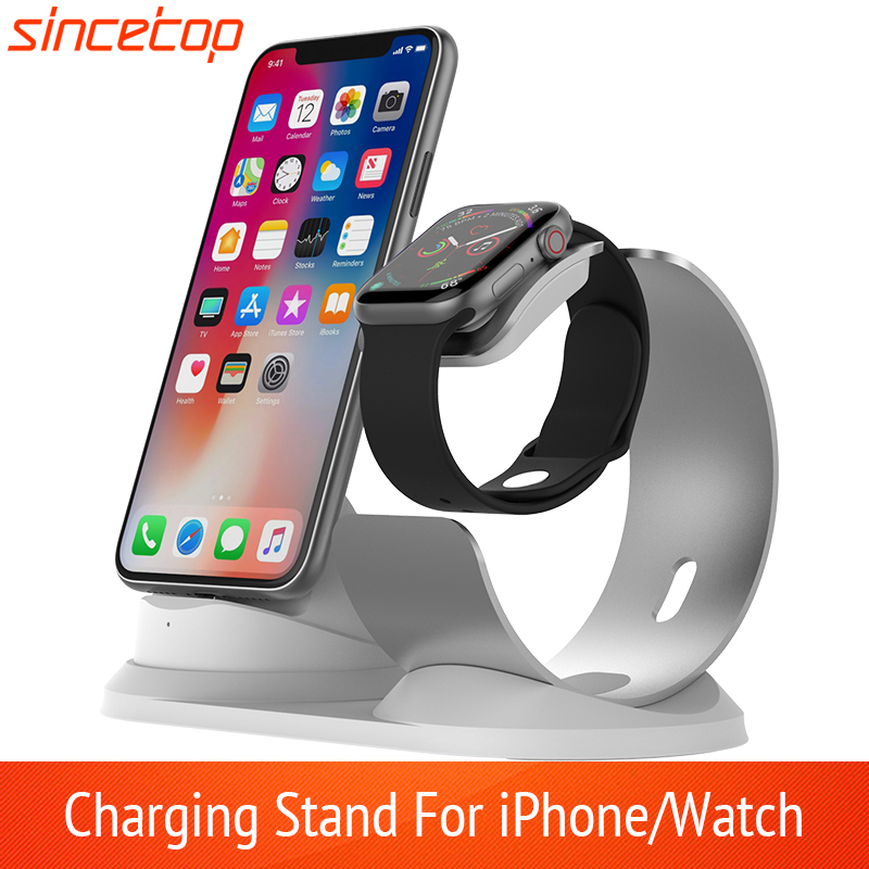 Зарядная подставка 2 в 1 для iPhone11Pro X XR XS Max 8 7 6 Apple Watch, док станция для iWatch|charging station|station chargecharger station | АлиЭкспресс