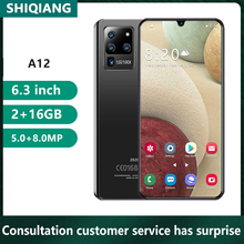 Soyes A12 New 16GB 2gb Quad Core Face Recognition 8MP Smartphone Unlock Mobliephone-Face