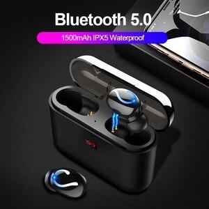 Image 1 - ALWUP Bluetooth 5.0 TWS Tai Nghe Không Dây Blutooth Tai Nghe Thật không dây Âm Thanh Stereo Tai Nghe Nhét Tai Thể Thao HBQ Q32