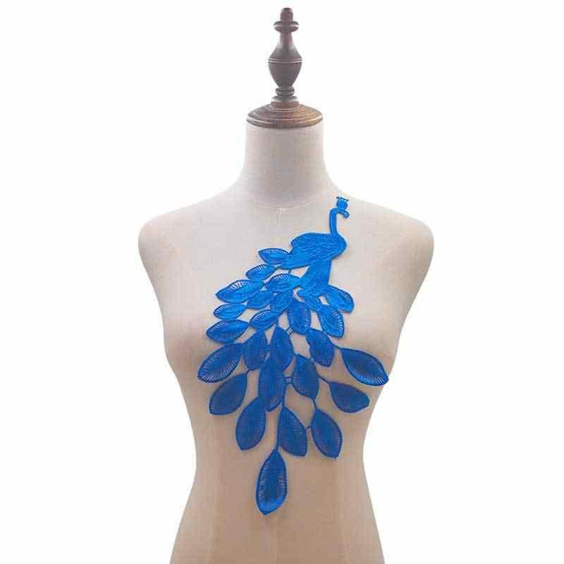1 шт полые кружева ткань Вышивка Тюль декольте цветок кружевной воротник принадлежности для шитья товары отделка свадебное платье