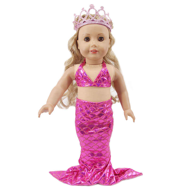 Flamingo swim toy for 18 inch dolls like American Girl