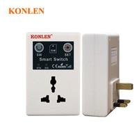 KONLEN UK EU Stecker GSM Steckdose Intelligente Relais Schalter Smart Fernbedienung Home Automation-Appliance durch Anruf SMS APP