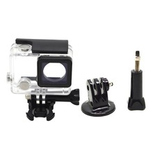 for Gopro Waterproof Housing Case for Gopro Hero 4 Hero3+Hero 3 Underwater Protective Box for Go Pro Accessories(China)