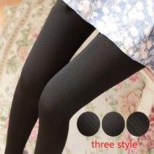 Новая мода Rajstopy, супер эластичные жаккардовые колготки, женские зимние колготки, чулки, теплые плотные колготки, Collant Femme, чулочно-носочные изделия