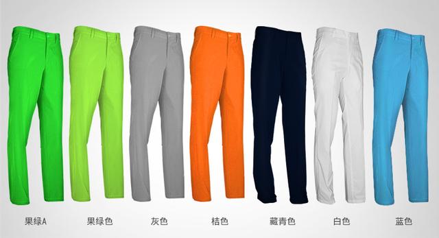 PGM Golf pants Men Wear Slim Full Long Thin Straight Loose