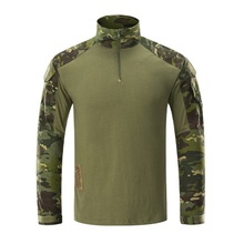 G3 Tactical Shirt Hunting Clothes Gen3 Shirt Long Sleeve Army Military Airsoft Paintball Hiking Camo MultiCam Black Combat Shirt