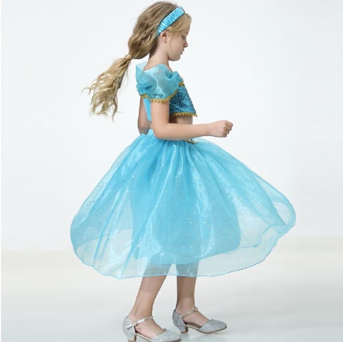أطفال بنات الأميرة الياسمين ازياء للأطفال حفلة فستان رقص البطن الهندي زي هالوين حفلة عيد الميلاد تأثيري