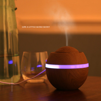 500ML USB LED Air Humidifier Aroma Essential Oil Diffuser Aromatherapy Air Mist Maker humidificador For Home Office mini usb portable utrasonic air humidifier aromatherapy essential oil aroma diffuser home office spa mist maker air purifier