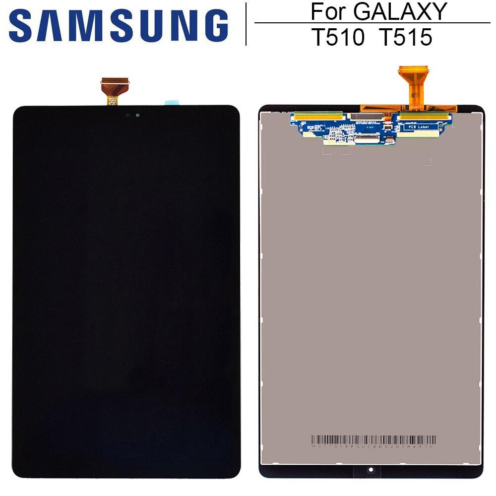 Новый Сменный ЖК-дисплей 10,1 дюйма для Samsung Galaxy Tab A 10,1 (2019) WIFI T510 SM-T510 T510N, ЖК-дисплей с сенсорным экраном в сборе T515