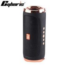 Haut parleur Bluetooth haut parleurs sans fil extérieurs portables Subwoofer 10 heures de Support mains libres/carte TF/USB/AUX cadeau danniversaire