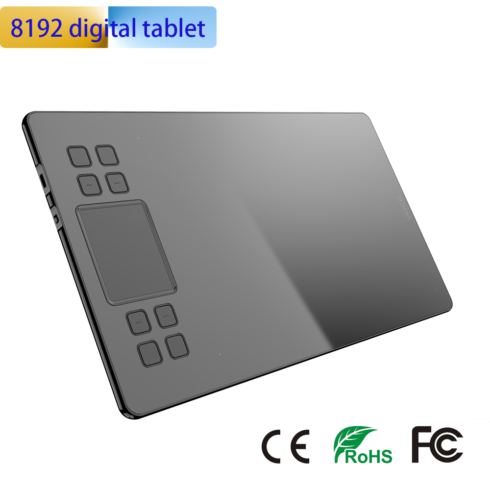 New 1060 Plus 8192 Levels Digital Tablets Drawing Tablets Signature Pen Tablet Professional Graphic Tablets With Gift