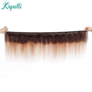Image 5 - Pelucas de cabello humano liso con cierre de encaje de colores para mujer, peluca de cabello humano degradado, cabello brasileño Remy 4x4 con cierre de encaje Natural 180%
