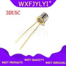 2Pcs 3DU5C Silicium Fototransistor Transistor 2 Voeten Metalen Pakket