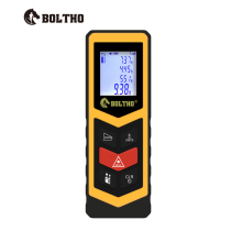 BOLTHO Mini Rangefinder-Digital laser distance Meter laser Tape measure Diastimeter tool 30M Laser Rangefinder digital laser distance meter ldm 40 bigger bubble level tool rangefinder pi54 class for waterproof and dustproof