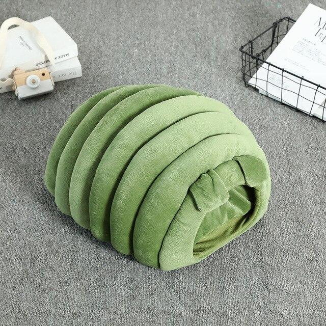 Cozy Puppy & Kitten Caterpillar Soft & Comfortable Kennel   5