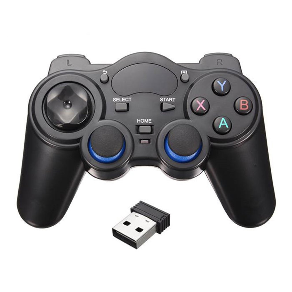 Smart Phone Wireless Handle Gamepad For Android Phone/PC Computer /PS3/TV Box Joystick 2.4G Joypad Game Remote Pad