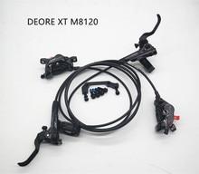 Bộ Chuyển Động SHIMANO DEORE XT M8120 Phanh 4 Thủy Lực Piston Phanh Đĩa Đá TECH Nhựa Má Phanh Phía Trước Phía Sau 800/900MM / 1600/1500MM DH FR