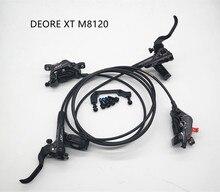 SHIMANO DEORE XT M8120 bremse 4 hydraulische kolben disc bremse EIS TECH Harz bremsbeläge vorne hinten 800/900MM / 1600/1500MM DH FR
