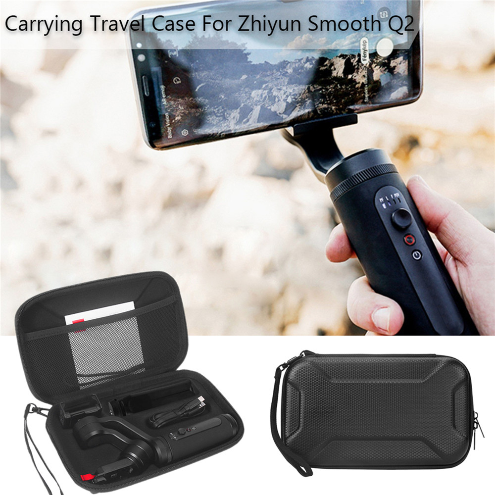 Portable Shockproof Case For Zhiyun Smooth Q2 Accessories Protective Storage Bag Travel Case With Lanyard