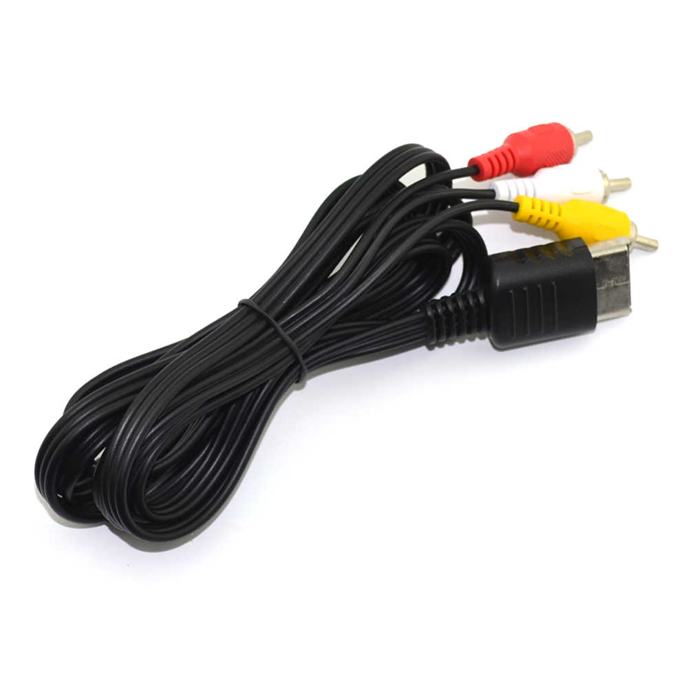 Kualitas Tinggi 1.8 M/6FT AV Audio Video 16pin 16 Pin Stereo Komposit Kabel Adaptor Cored untuk SEGA Dreamcast DC