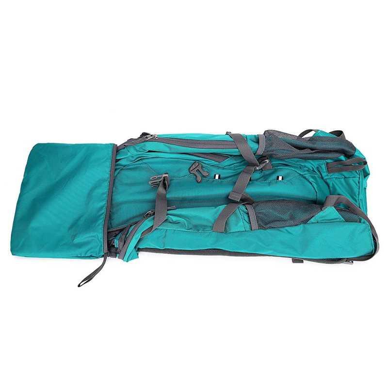 Mochila ligera de 40L, impermeable, para viaje, senderismo, Camping, mochila de día al aire libre, bolsa de senderismo para mujeres y hombres