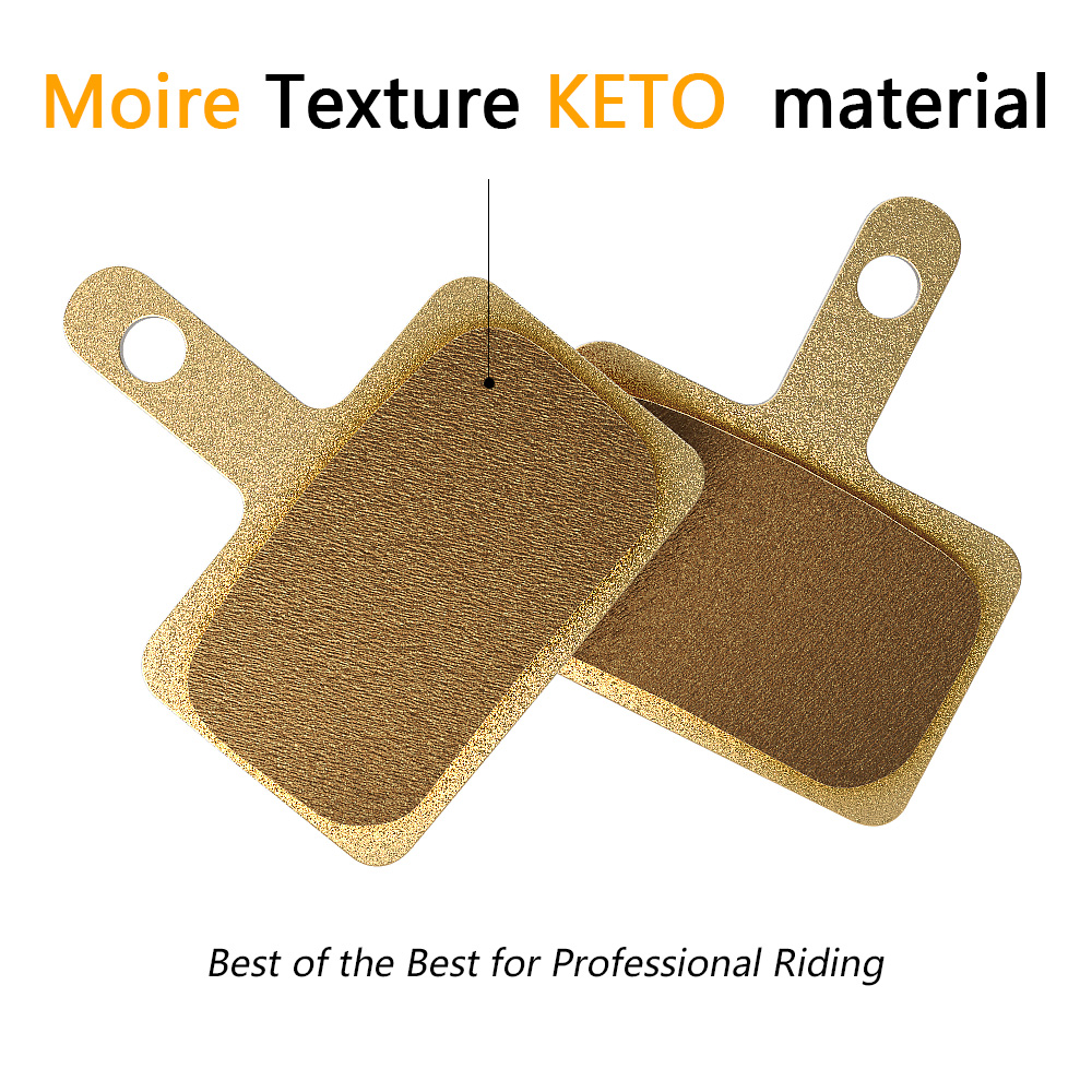 Moire Texture KETO Material Oil Disk Brake Pads pad for Electric Scooter