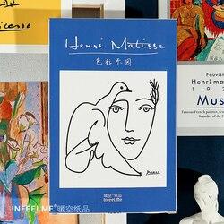 30 шт./компл. Henri Matisse Ретро масляная открытка-картина цвет рай поздравительные открытки Рождественский и новогодний подарок открытка