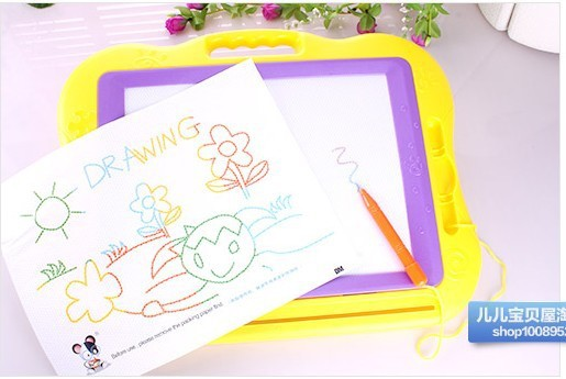 Large Size Color Magnetic Drawing Board WordPad Educational Toy Tablet Children Drawing Board Educational Toy