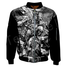Tessffel Unisex Viking Tattoo Warriors Tracksuit New Fashion casual Men/Women 3DPrint Hoodies/Hoodie/Bomber Jackets s-1
