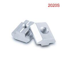 50 шт/упаковка детали для 3d принтера с ЧПУ серия 2020 m5 гайки