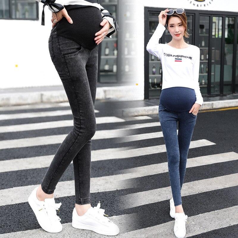 Gravida Jeans Women Pregnancy Maternity Clothing Jeans Black Pants For Pregnant Women Clothes Nursing Trousers Denim Jeans Women