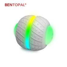 BENTOPAL-- Smart Cat Interactive Toy Balls 360 Degree Automatic Rolling Ball Self Rotating Pet Cat Ball USB Rechargeable