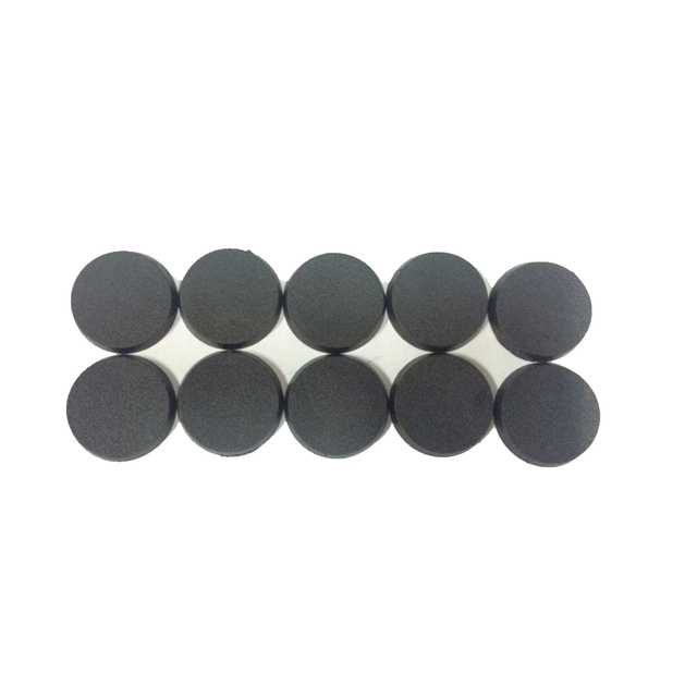 30pcs/50pcs/100pcs Wargame Table Base 25mm-70mm Gaming Miniatures Plastic Round Bases Model 5