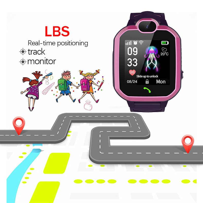 LIGE New Waterproof Smart Watch Children LBS Base Station Positioning Watches Children's Smart Watch Video Call Kid smartwatch