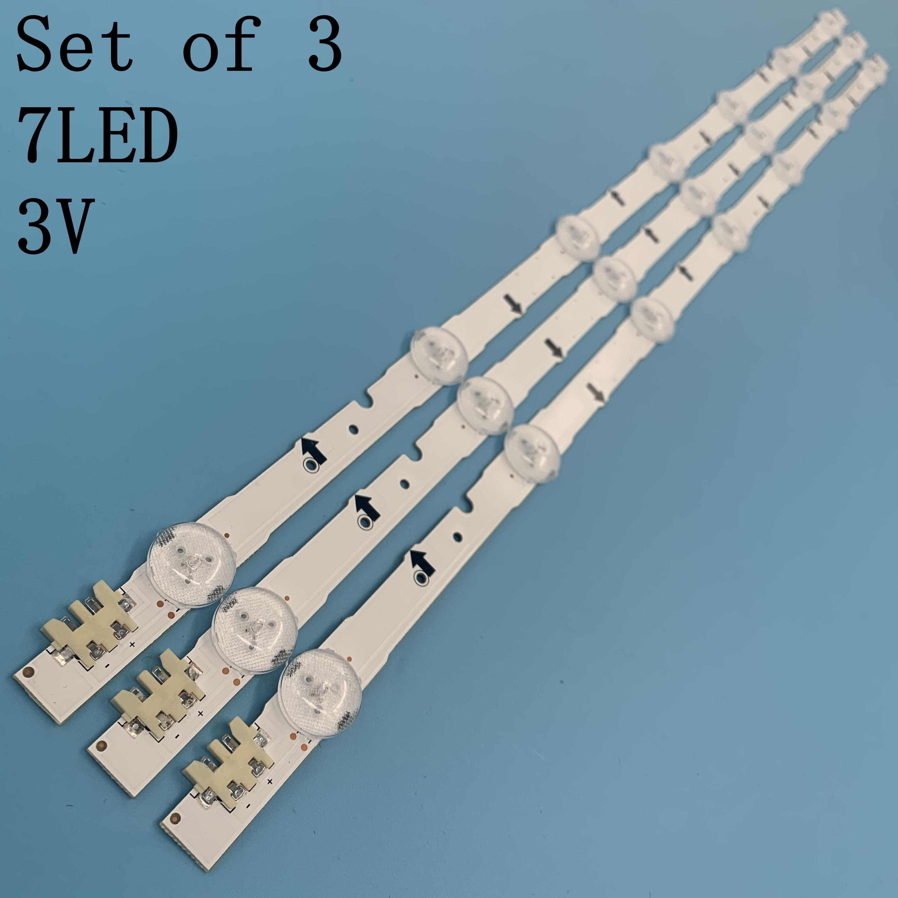 650mm LED Backlight Lamp Strip 7leds For Sam Sung 32 Inch TV 2014SVS32HD D4GE-320DC0-R3 CY-HH032AGLV2H BN41-02169A BN96-30445A