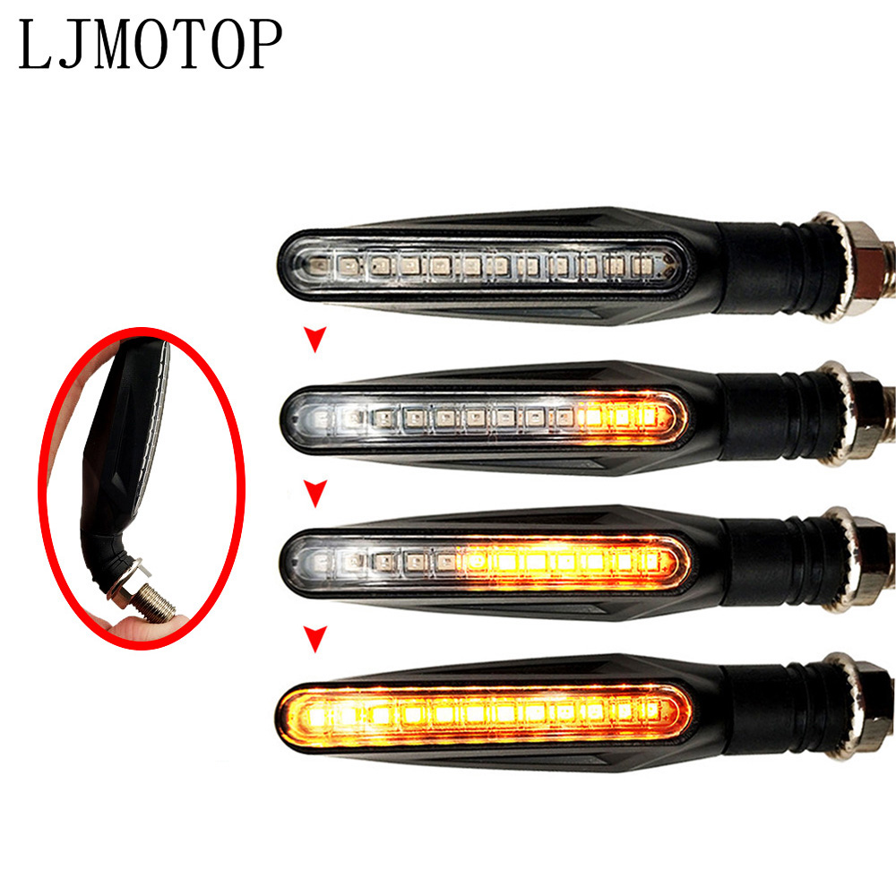 For DUCATI HYPERMOTARD 1100/S/EVO SP 400 MONSTER  Motorcycle Turn Signal Lights Flashing Signal Lamp Accessories