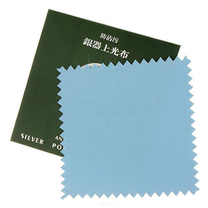 1pcs/5pcs Silver Jewelry Cleaning Gold Cleaner Polishing Cloth Cheapest Double Sides Cotton Flannels Fabric