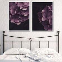 Благородное цветочное настенное искусство Современный домашний