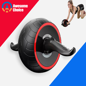 ABS Abdominale Roller Oefening Wiel Fitness Apparatuur Mute Roller Voor Armen Terug Buik Core Trainer Body Vorm Training Levert(China)