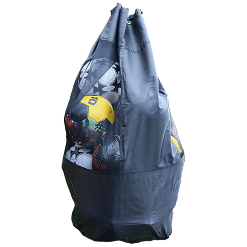 Portable Football Storage Bag Soccer Training Equipment Basketball Ball Game Storage Outdoor Mesh Ball Bag Can Accommodate 15 Fo