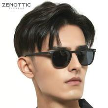 Солнцезащитные очки zenottic в стиле ретро квадратные поляризационные