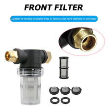 INLET-FILTER Pressure-Washer Hose for 40/Mesh-screen/Clear-bowl/Inline